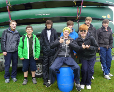 Bronze canoe training